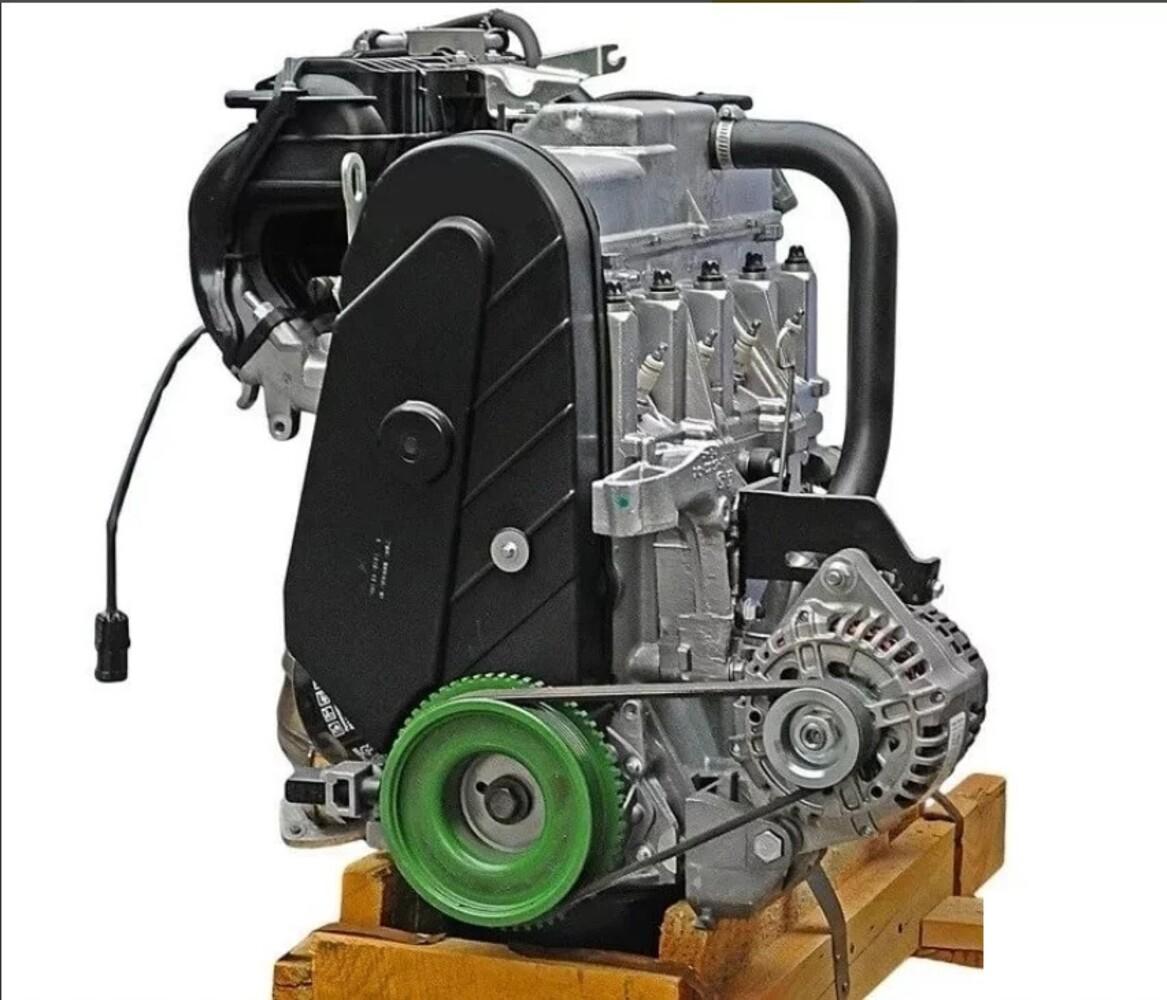 Двигатель ВАЗ 21114-100026080 в сборе для Лада Калина, 2108-21099, 2113-2115, 2110-2112